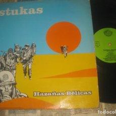 Discos de vinilo: STUKAS HAZAÑAS BÉLICAS( FONO. ASTURIANA 1981 ) OG ESPAÑA CUENCA MINERA LEA DESCRIPCION. Lote 213050757