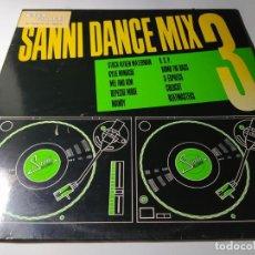 Discos de vinilo: LP - VARIOUS – SANNI DANCE MIX 3 - SDM-20012 (VG+ / VG) SPAIN 1988. Lote 213064396