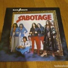 Discos de vinilo: VINILO BLACK SABBATH ?– SABOTAGE. ESPAÑA 1985.. Lote 213075846
