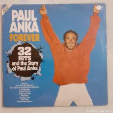 Discos de vinilo: PAUL ANKA. FOREVER. 2 LP. GATEFOLD. NL 89209 (2). GERMANY 1980.. Lote 213079981