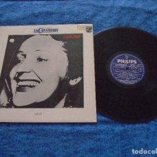 Discos de vinilo: EDITH PIAF SPAIN LP 1980 EDITION LA CHANSON VOL. VI RECOPILATORIO GRANDES EXITOS MUY BUEN ESTADO VER. Lote 213091783