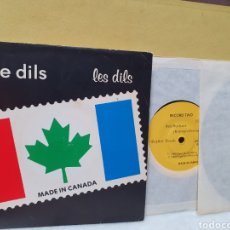Disques de vinyle: THE DILS. MADE IN CANADA. ROGELLETTI RECORDS. 2 SINGLES 1980.. Lote 213092051