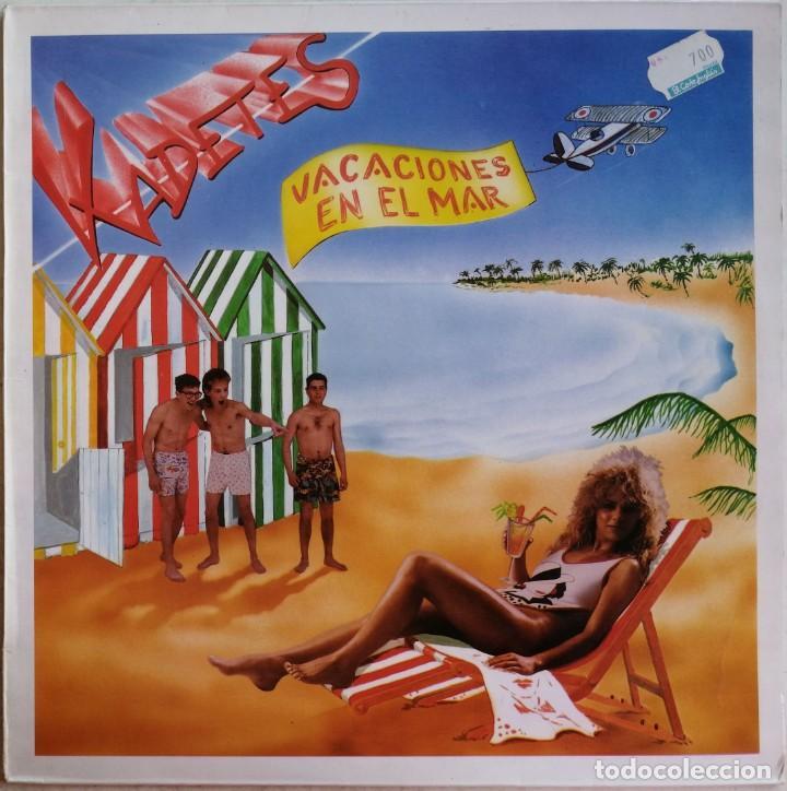 KADETES-VACACIONES EN EL MAR, TENESSY DISCOS TKM-0001 (Música - Discos de Vinilo - Maxi Singles - Grupos Españoles de los 70 y 80)