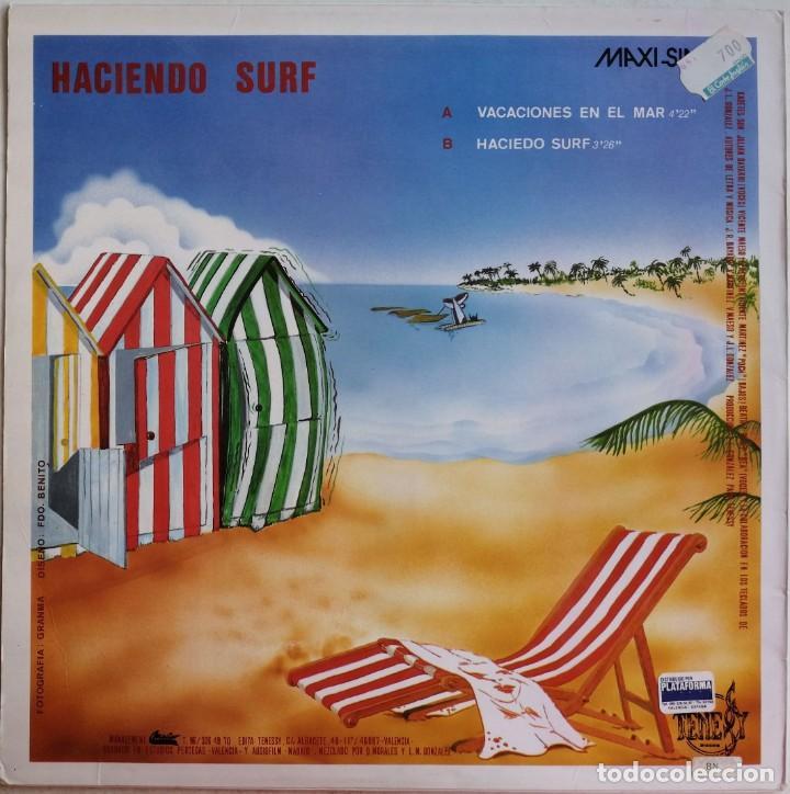 Discos de vinilo: Kadetes-Vacaciones En El Mar, Tenessy Discos TKM-0001 - Foto 2 - 213093728