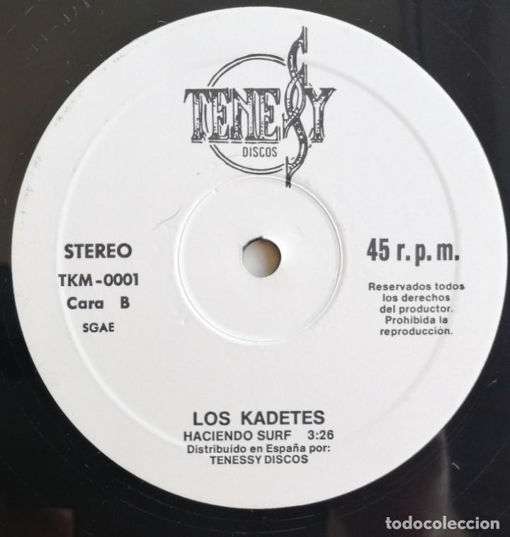 Discos de vinilo: Kadetes-Vacaciones En El Mar, Tenessy Discos TKM-0001 - Foto 3 - 213093728