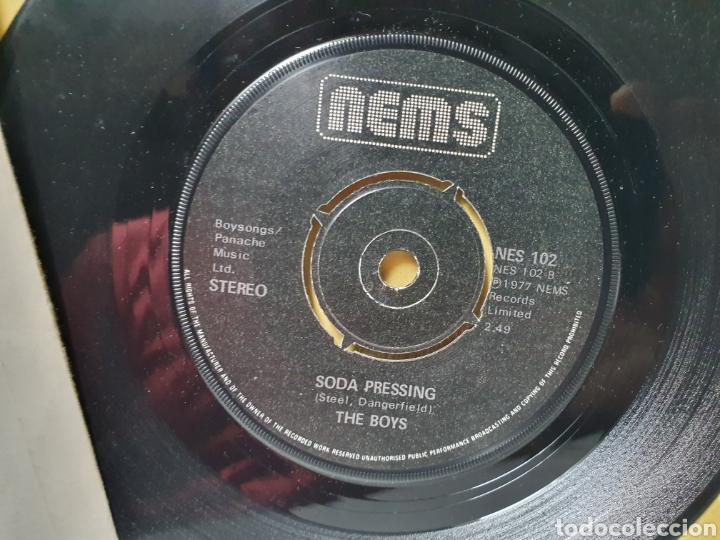 Discos de vinilo: THE BOYS. I DONT CARE. SODA PRESSING. NEMS RECORDS. SINGLE 1977. - Foto 3 - 213093750