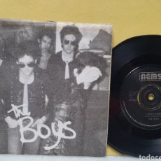 Disques de vinyle: THE BOYS. I DONT CARE. SODA PRESSING. NEMS RECORDS. SINGLE 1977.. Lote 213093750