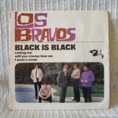 Discos de vinilo: LOS BRAVOS - BLACK IS BLACK + 3 - EP DE VINILO EDITADO EN FRANCIA EL AÑO 1966 PORTADA A COLOR. Lote 213095807