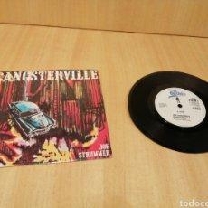 Discos de vinilo: JOE STRUMMER. GANSTERVILLE. JEWELERS & BUMS.. Lote 213098198