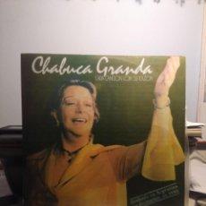 Discos de vinilo: LP CHABUCA GRANDA : CADA CANCION CON SU RAZON. Lote 213100586