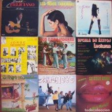 Discos de vinilo: LOTE 9 LP (INDIOS TABAJARAS,JOSE FELICIANO,JORGE NEGRETE, MAGNETO, GEORGIE DANN...). Lote 213103866