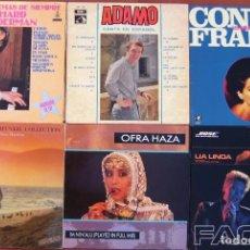 Discos de vinilo: LOTE 6 LPS (SIMON & GARFUNKEL, OFRA HAZA, CONNIE FRANCIS, ADAMO, LIA LINDA, R.CLAYDERMAN). Lote 213104391