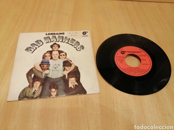 BAD MANNERS. LORRAINE, BACK IN THE 60, HERE COMES THE MAJOR. (Música - Discos - Singles Vinilo - Reggae - Ska)