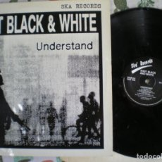 Discos de vinilo: SHOT BLACK AND WHITE, UNDERSTAND , EDICION DE EPOCA. Lote 213109615