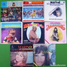 Discos de vinilo: LOTE 8 SINGLES Y EPS DE MARISOL. Lote 213110021
