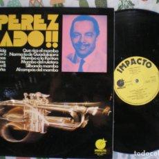Discos de vinilo: PEREZ PRADO, EDICION DE EPOCA. Lote 213110542