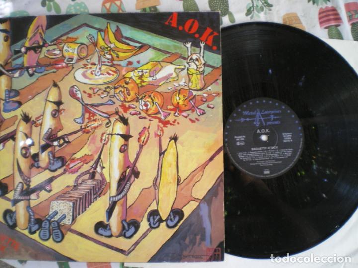 A.O.K., PUNK ALEMAN,, EDICION DE EPOCA (Música - Discos - LP Vinilo - Punk - Hard Core)