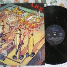 Discos de vinilo: A.O.K., PUNK ALEMAN,, EDICION DE EPOCA. Lote 213110980