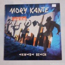 Discos de vinilo: MORY KANTE. AKWABA BEACH. AG 833119-1. 1988 ESPAÑA.. Lote 213112402