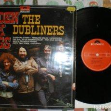 Discos de vinilo: THE DUBLINERS, GOLDEN FOLK SONGS, EDICION DE EPOCA. Lote 213114541