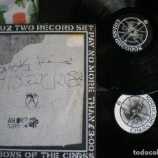 Discos de vinil: CRASS RECORDS, LP DOBLE, RARO Y ESCASO, EDICION DE EPOCA. Lote 213120357