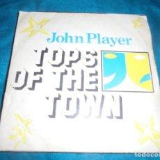 Discos de vinilo: JOHN PLAYER. TOPS OF THE TOWN. TOMMY ELLIS.. Lote 213136916