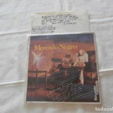 Disques de vinyle: MERCADO NEGRO (FUSIOON) (MARTI BRUNET) SG. SE HAN CARHADO A MICKEY MOUSE (1983) PROMOCIONAL. Lote 213148710