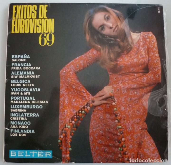 EXITOS DE EUROVISION 69 (LP BELTER 1969 ESPAÑA) (Música - Discos - LP Vinilo - Festival de Eurovisión)