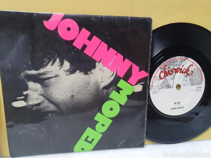 JOHNNY MOPED. CHISWICK RECORDS. SINGLE ORIGINAL 1977. (Música - Discos - Singles Vinilo - Punk - Hard Core)