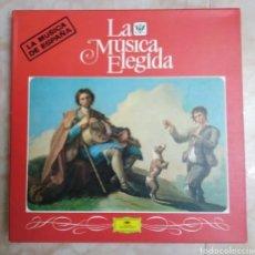 Discos de vinilo: CAJA DE 4 LP VINILOS ( LA MÚSICA DE ESPAÑA ). Lote 213156216