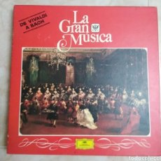 Discos de vinilo: CAJA DE 4 LP VINILOS ( DE VIVALDI A BACH ). Lote 213156352