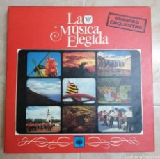 Discos de vinilo: CAJA DE 4 LP VINILOS ( GRANDES ORQUESTAS ). Lote 213156728