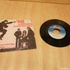 Discos de vinilo: WILKO JOHNSON SOLID SENDERS. WALKING ON THE EDGE. DR DUPREE.. Lote 213164468