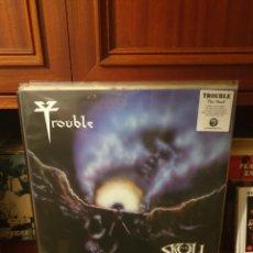 Disques de vinyle: TROUBLE / THE SKULL / HAMMERHEART 2020. Lote 213164915