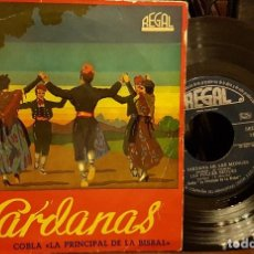 Disques de vinyle: SARDANAS COBLA PRINCIPAL DE LA BISBAL -DE LES MONGES- LES FULLES SEQUES- L´EMPORDÁ. Lote 213166696