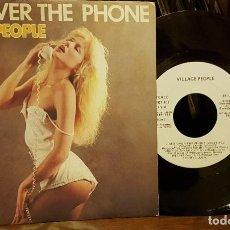 Discos de vinilo: SEX OVER THE PHONE - VILLAGE PEOPLE DISCO PROMO SPAIN 85. Lote 213167458
