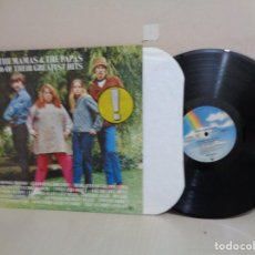 Discos de vinilo: THE MAMAS THE PAPAS -16 OF THEIR GREATEST HITS--ABC RECORDS- MCA RECORDS-MADE IN GERMANY-. Lote 213167561
