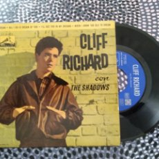 Discos de vinilo: VINILO CLIFF RICHARD CON THE SHADOWS. LA VOZ DE SU AMO 1963. DREAM. Lote 213168417