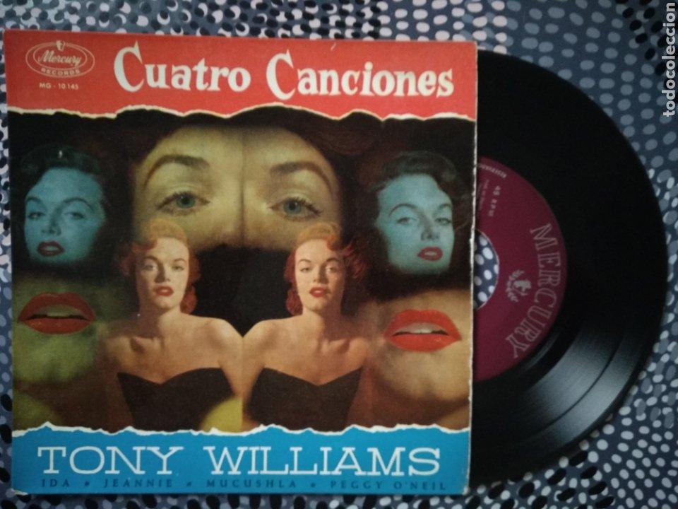 VINILO TONY WILLIAMS 4 CANCIONES CON NOMBRE DE MUJER. DISCOS MERCURY (Música - Discos de Vinilo - Maxi Singles - Pop - Rock Internacional de los 50 y 60)