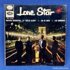 Discos de vinilo: SINGLE LONE STAR - NUESTRA GENERACIÓN - ESPAÑA - AÑO 1966. Lote 213177117