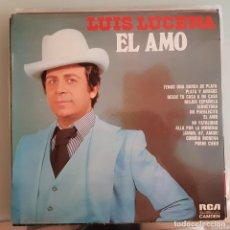 Discos de vinilo: DISCO LP FLAMENCO COPLA LUIS LUCENA. EL AMO. Lote 213182351