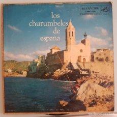 Discos de vinilo: DISCO LP FLAMENCO COPLA. LOS CHURUMBELES DE ESPAÑA. Lote 295366228