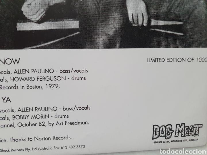 Discos de vinilo: THE REAL KIDS. NOW YOU KNOW. WHO NEEDS YA. DOG MEAT RECORDS. EDICION LIMITADA 1000. SINGLE 1994. - Foto 5 - 213187513