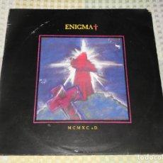 Discos de vinilo: LP. ENIGMA-MCMXC A.D, SELLO VIRGIN-(LL) 211209. AÑO 1990. SPAIN. INCLUYE ENCARTE.. Lote 213189712