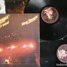 Discos de vinilo: BOB SEEGER AND THE SILVER BULLET BAND, NINE TONIGHT, LP DOBLE, EDICION DE EPOCA. Lote 213197312