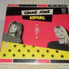 "Discos de vinilo: FUN FUN – GIMME SOME LOVING LP ZAFIRO MAXI SINGLE 20112055 HOUSE MIX 12"". Lote 213197912"