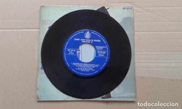 Discos de vinilo: SANDIE SHAW - EUROVISION 1967 EP 4 TEMAS 1967 EDICION ESPAÑOLA - Foto 2 - 213222316