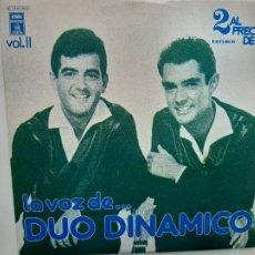 Discos de vinilo: DUO DINAMICO- LA VOZ DE DUO DINAMICO VOL. II- 2 LP 1978- VINILOS COMO NUEVOS.. Lote 213236022