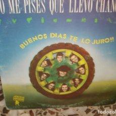 Discos de vinilo: NO ME PISES QUE LLEVO CHANCLAS BUENOS DÍAS TE LO JURO (SÓLO CARPETA). Lote 213236418