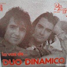 Discos de vinilo: DUO DINAMICO- LA VOZ DE DUO DINAMICO - 2 LP 1976- VINILOS COMO NUEVOS.. Lote 213236685